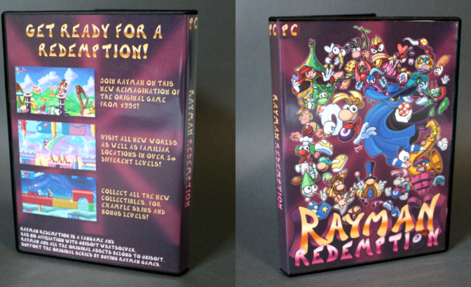 Rayman Redemption - le boitier