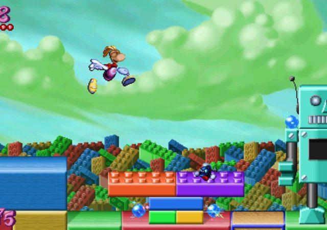 Rayman redemption - Rayman au pays des jouets
