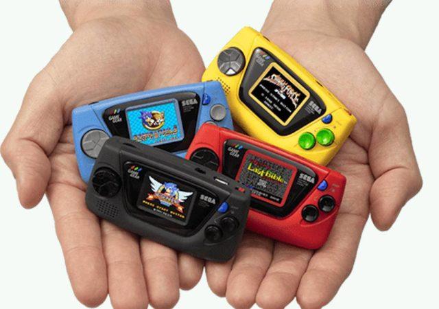 Sega annonce sa Game Gear Micro