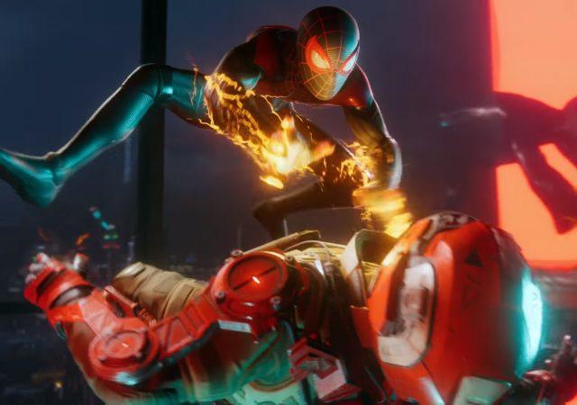 Spider-man Miles morales - attaque