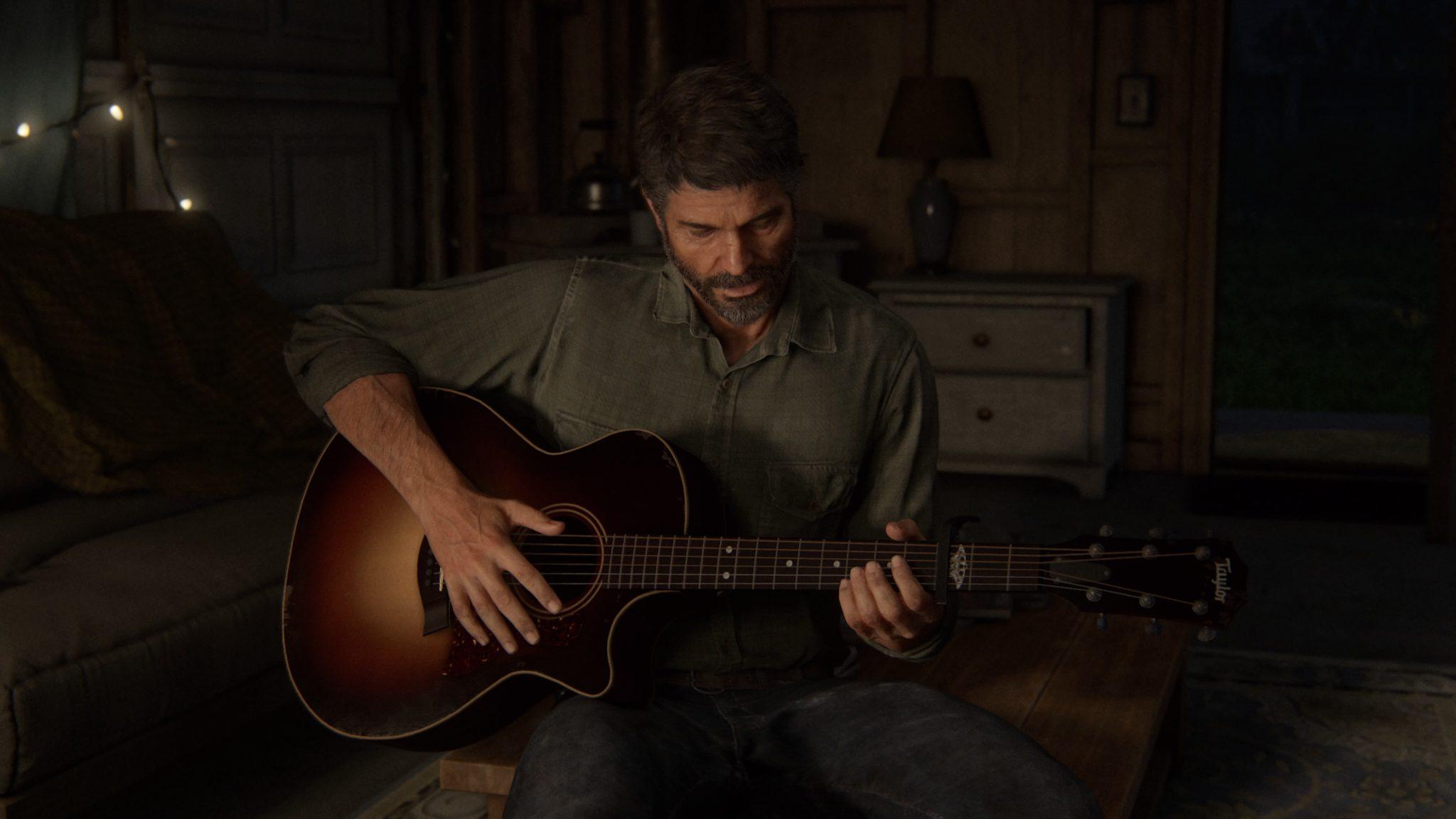 Joel dans The Last of Us Part II