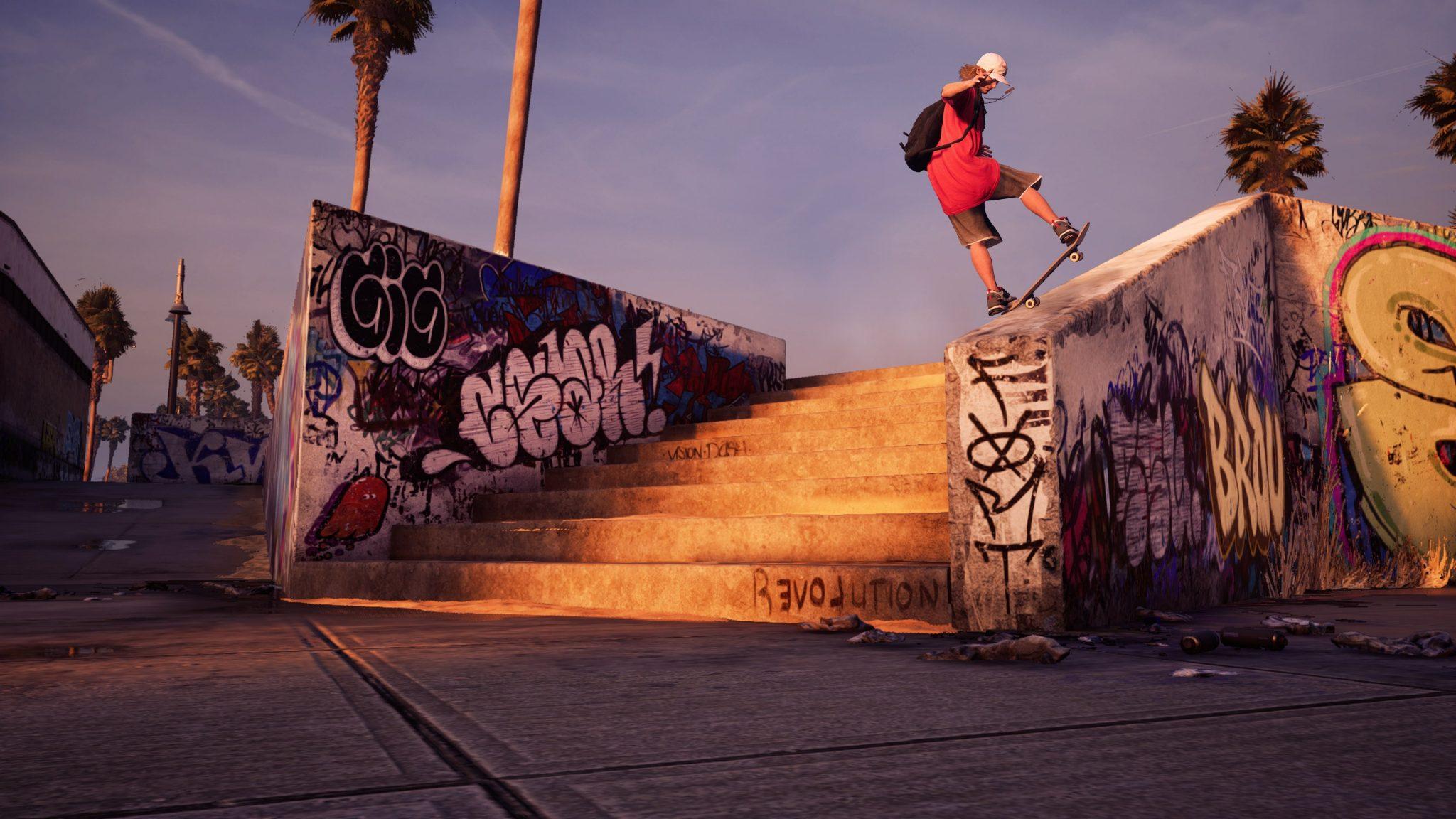 Tony Hawk Pro Skater 1 + 2 personnages et trailer