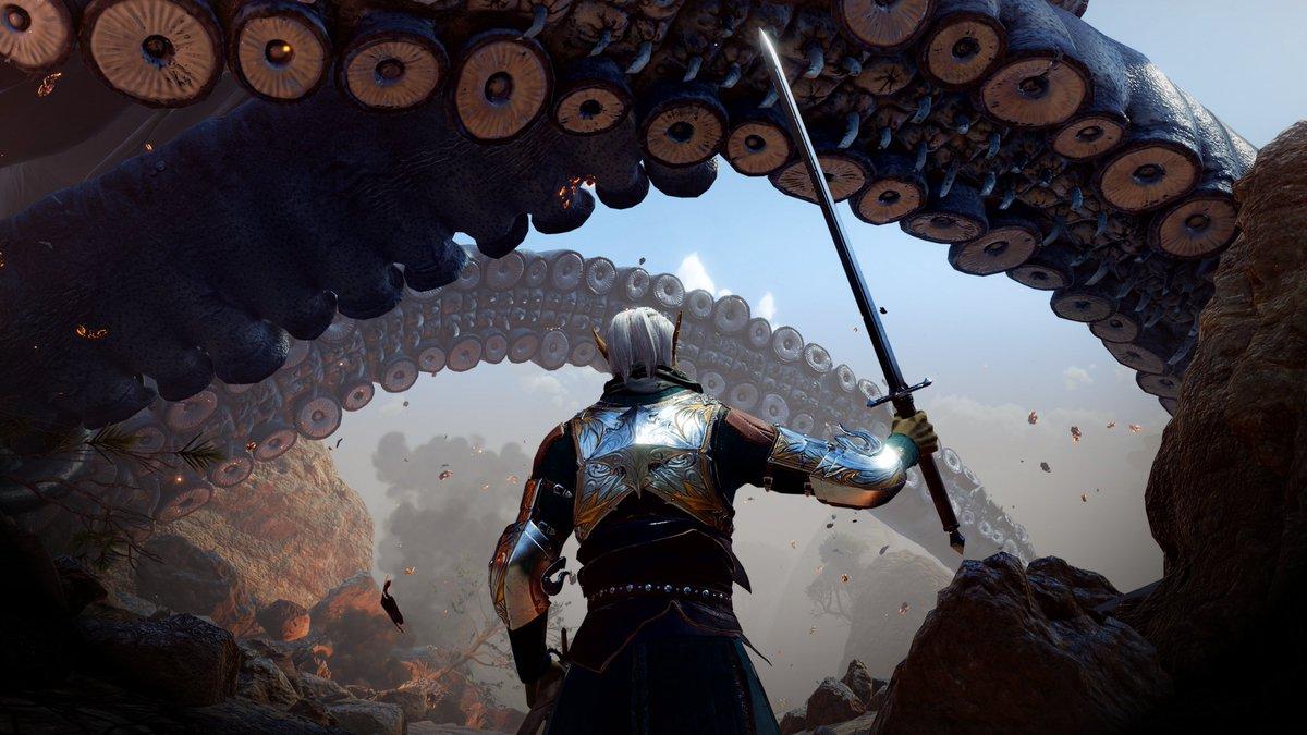 Baldur's Gate 3 tentacules