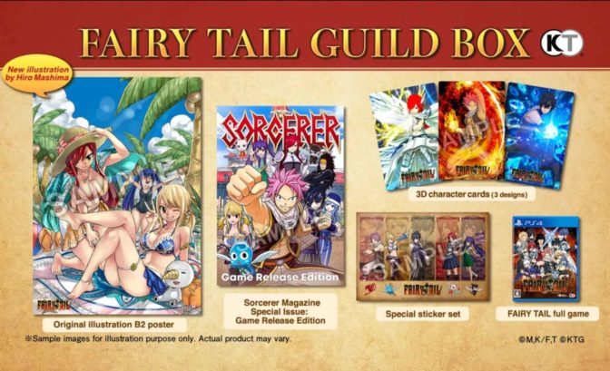 fairy tail - contenu collector