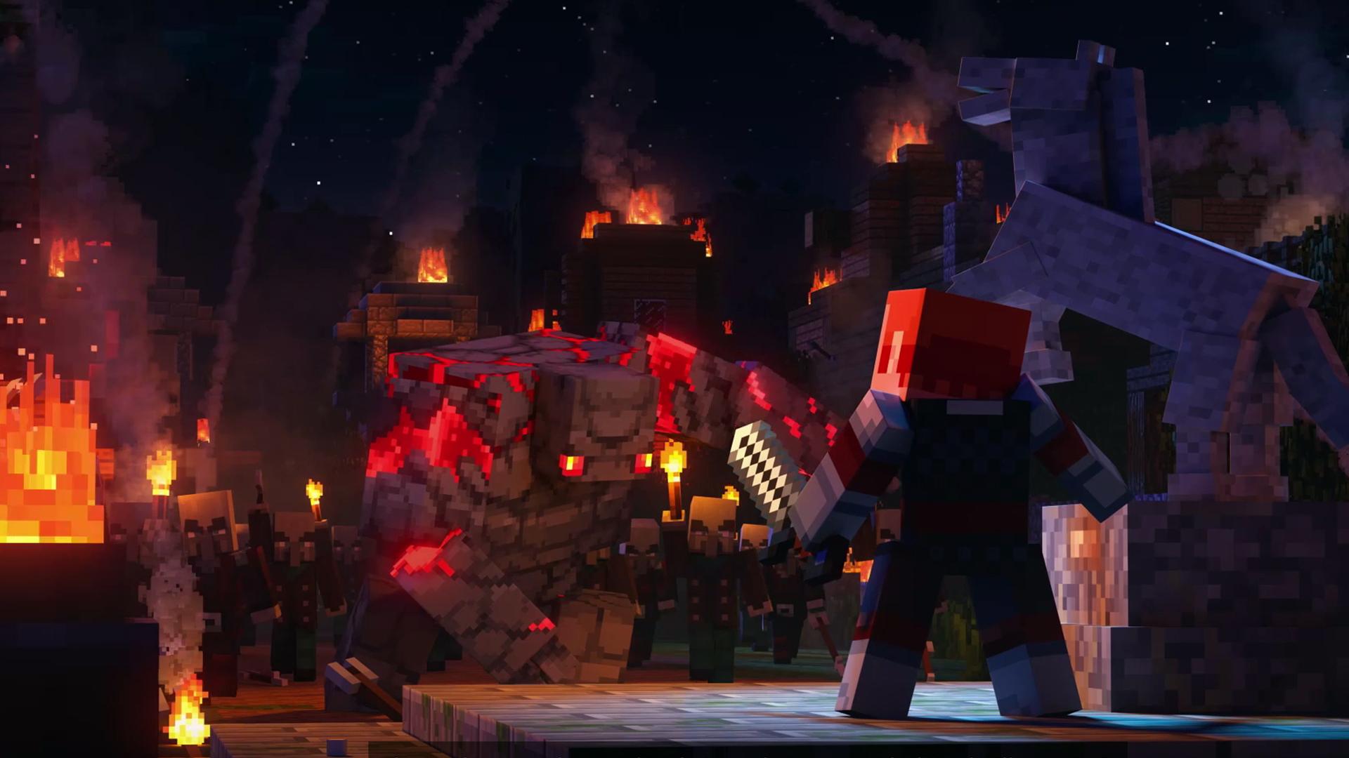 Minecraft Dungeons cinematique