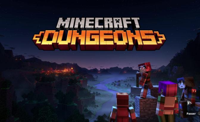 Test de Minecraft Dungeons