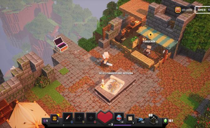 Minecraft Dungeons Base
