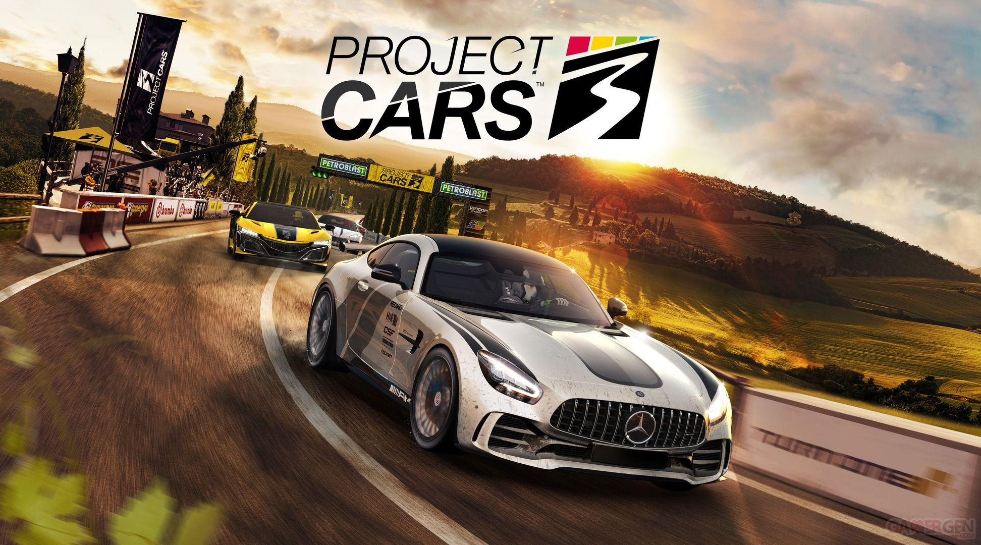 Project Cars 3 dévoile sa date de sortie