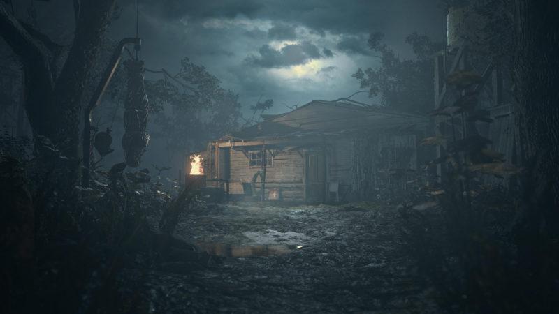 Resident Evil Village cabane