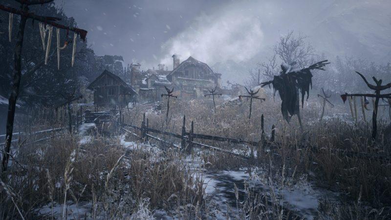 Resident Evil Village village neige