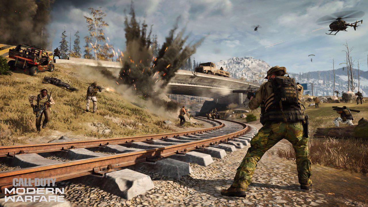 train Warzone