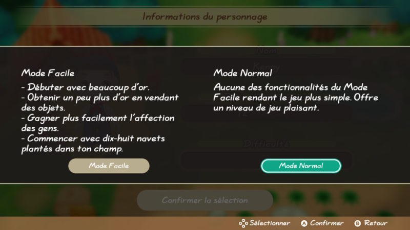 Story of Seasons: Friends of Mineral Town - Facile