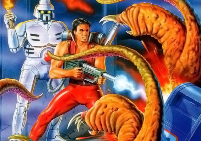 Alien Storm et Alien Soldier - Gros bras, robot et tentacules