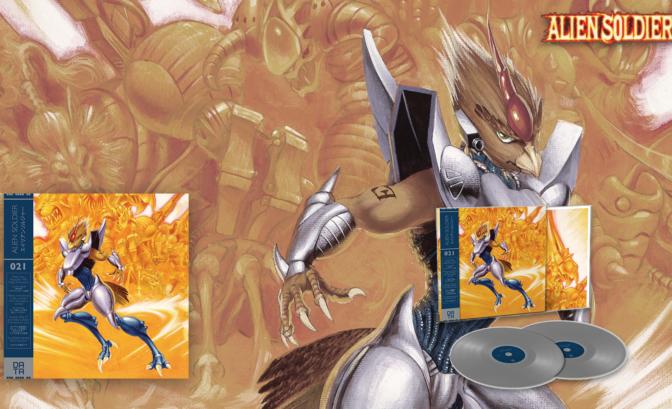 Alien Soldier - Vinyle et illustration