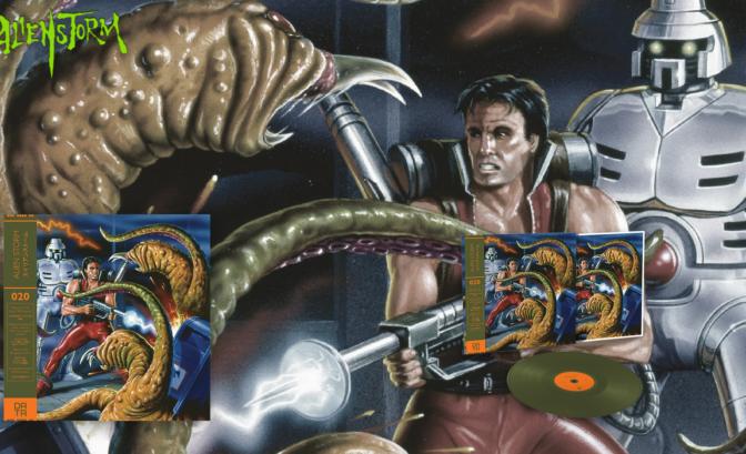 Alien Storm - Le vinyle Slim Green et son illustration qui claque