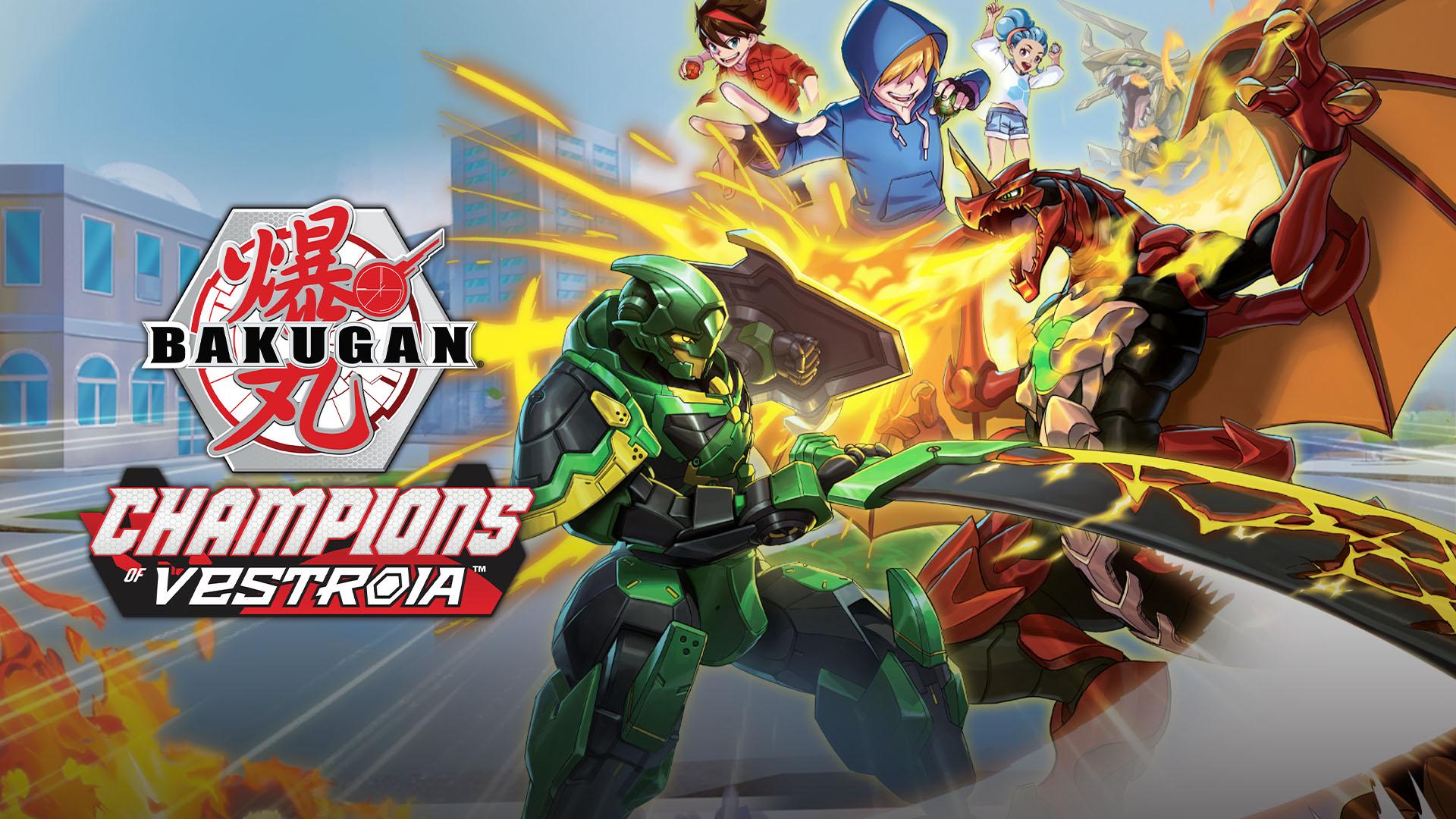 Annonce du jeu Bakugan: Champions of Vestroia sur Switch