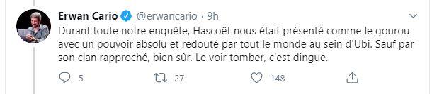 tweet cario Ubisoft