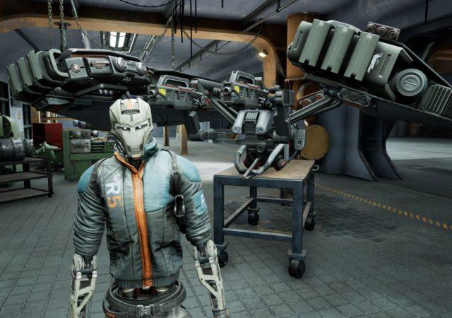 Disintegration - Romer Soahl pose dans le garage