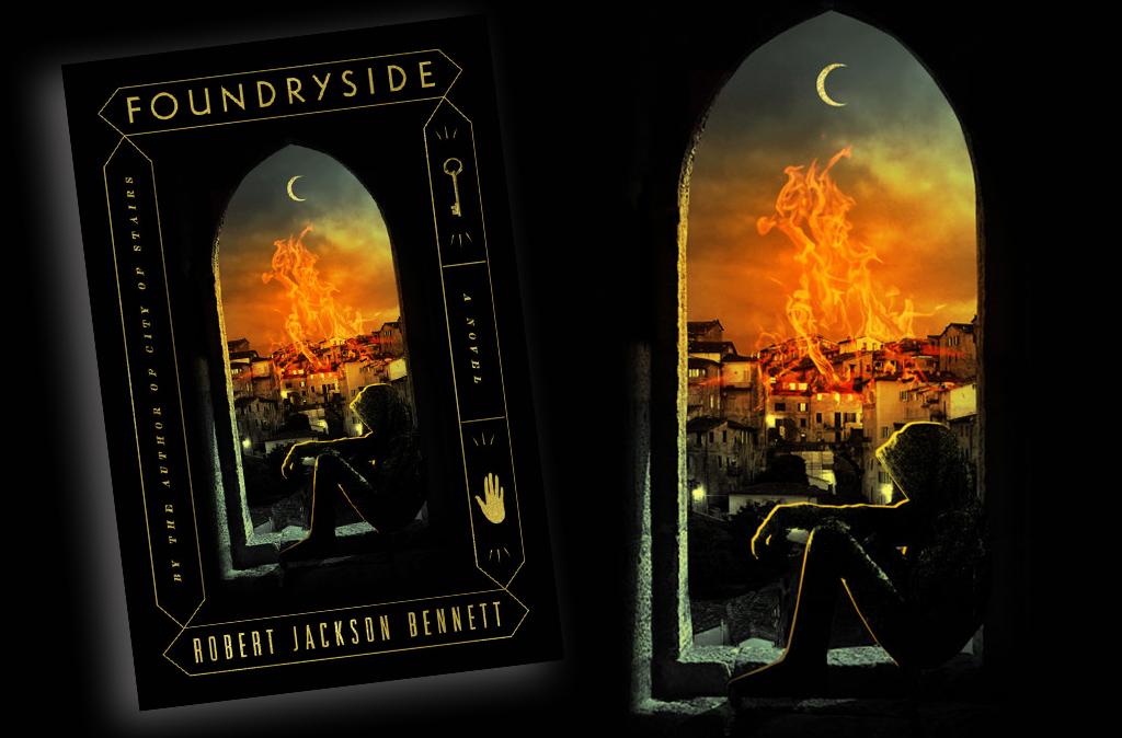 Foundryside couverture US illustration
