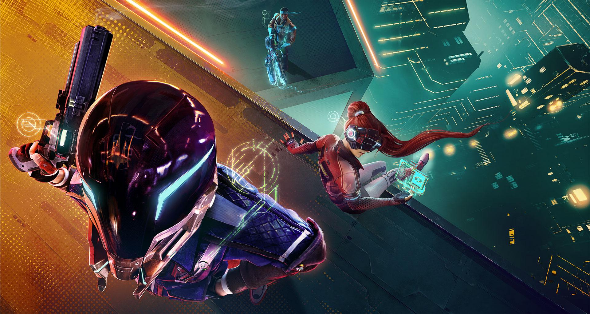 Ubisoft annonce son Battle Royale nommé Hyper Scape