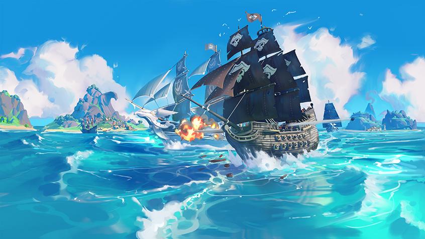 King of Seas - Bateau pirate