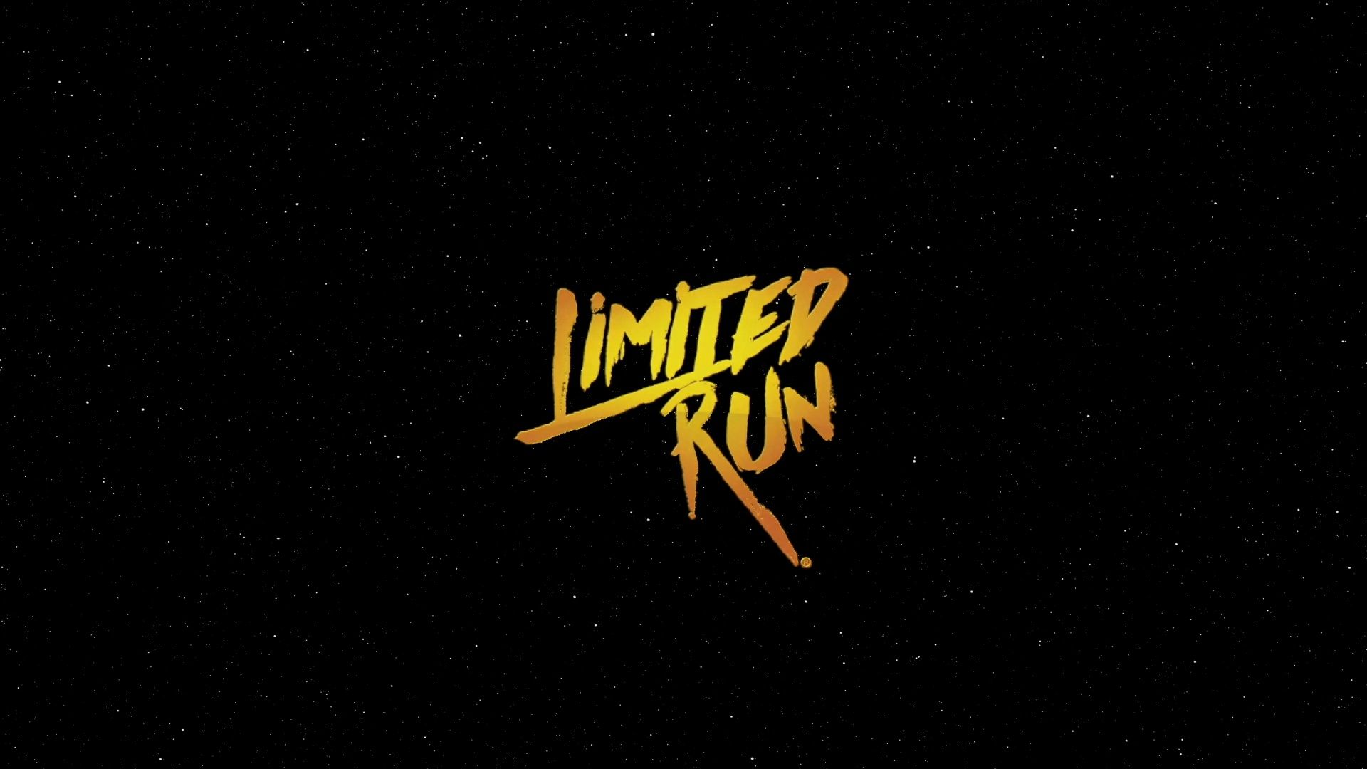 Limited Run Games 2020