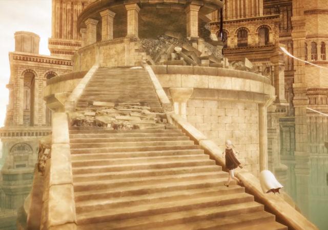 Nier Reincarnation château début