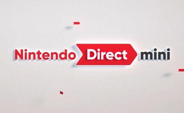 Visuel du Nintendo Direct Mini