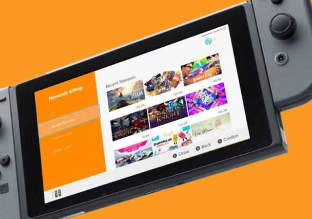 Jeux Nintendo eShop