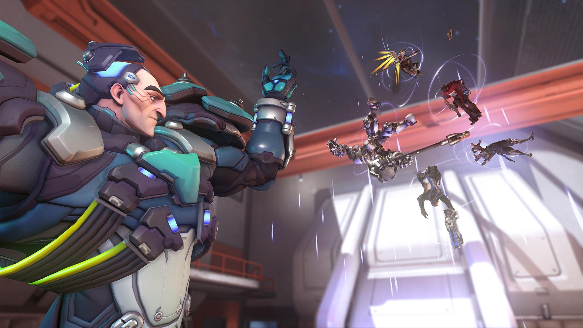Le personnage Sigman dans le jeu Overwatch
