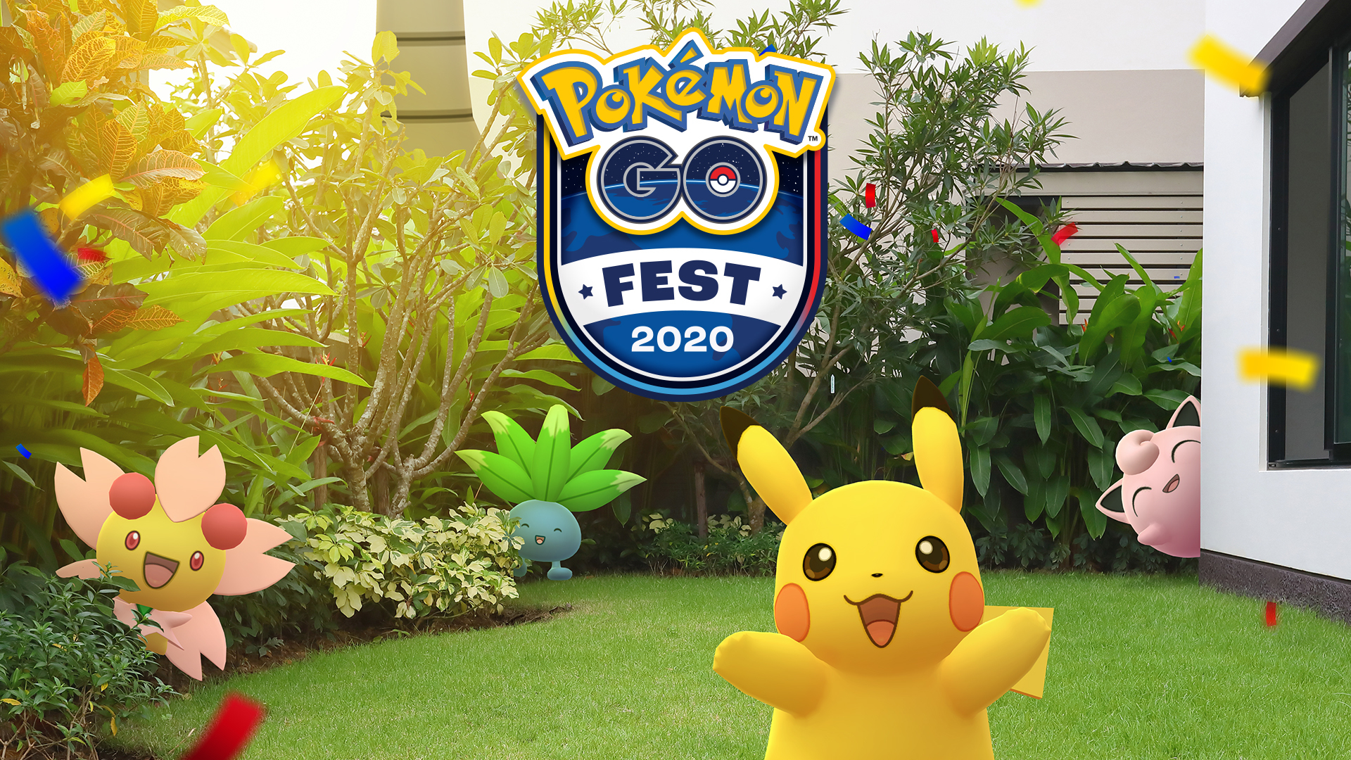 Pokémon GO fest 2020 key art