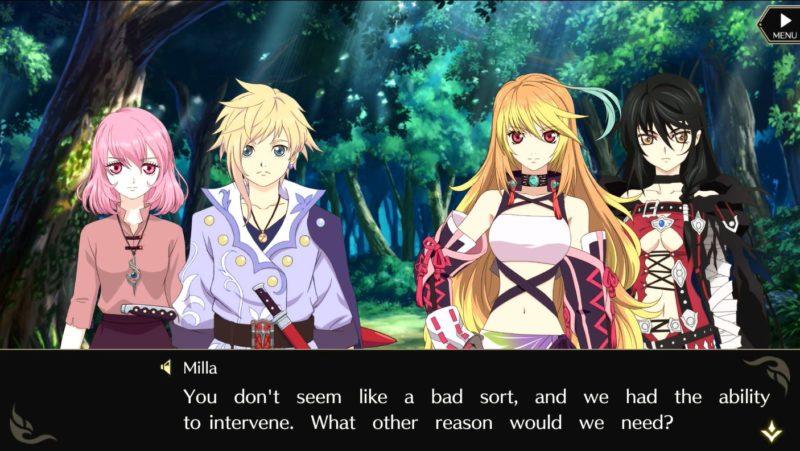 Tales of Crestoria - nouveaux et anciens personnages