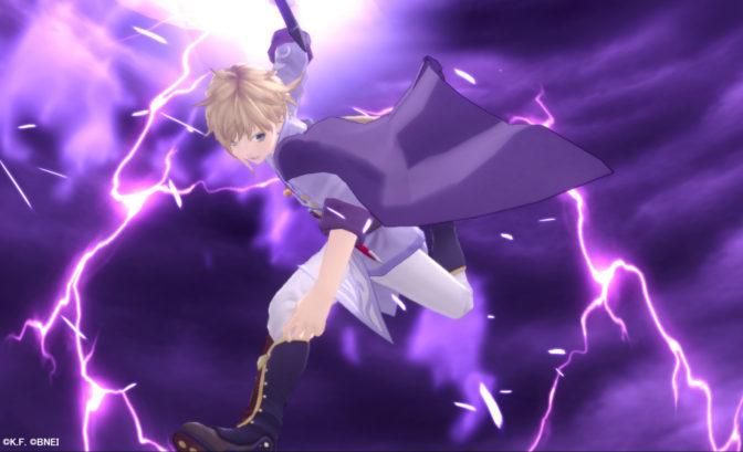 Tales of Crestoria - Kanata effectue son attaque spécial