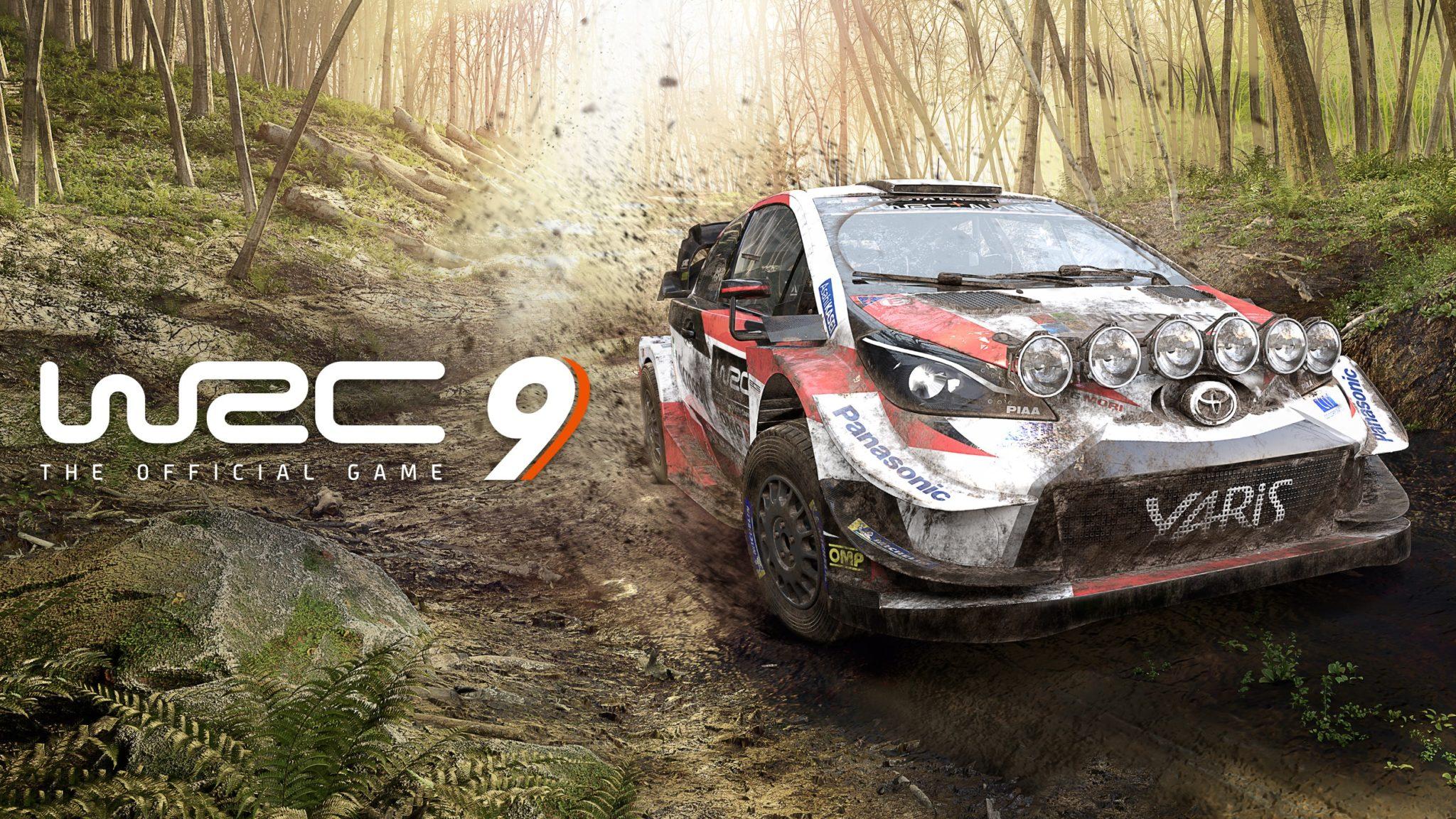 WRC 9 toyota