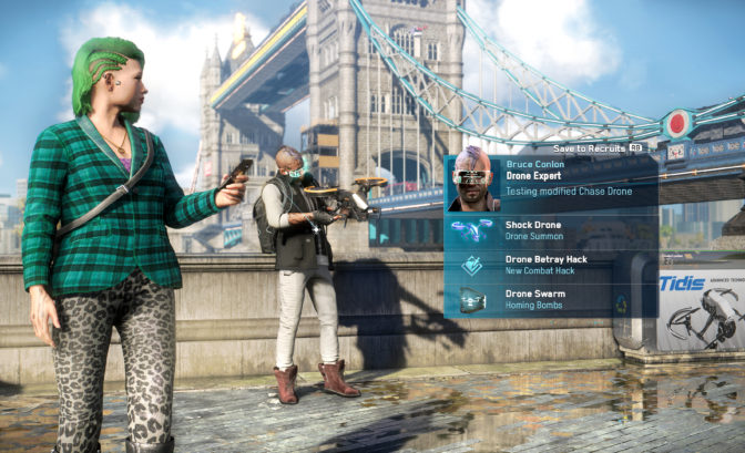 Watch Dogs : Legion - recrutement
