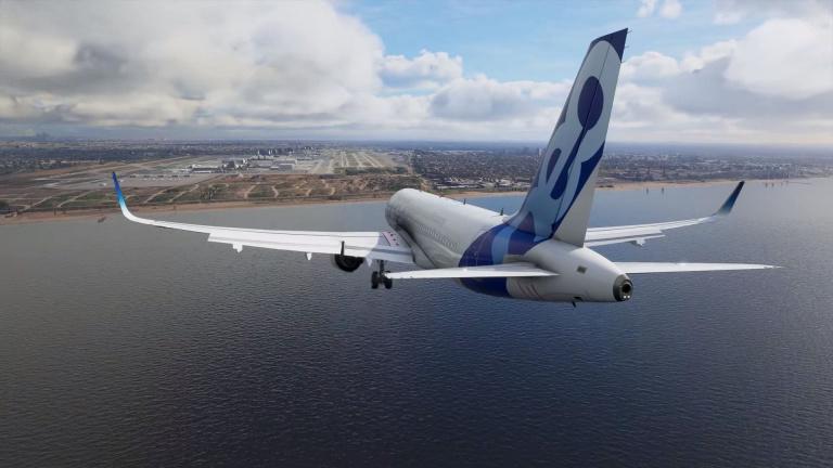 flight simulator avion horizon