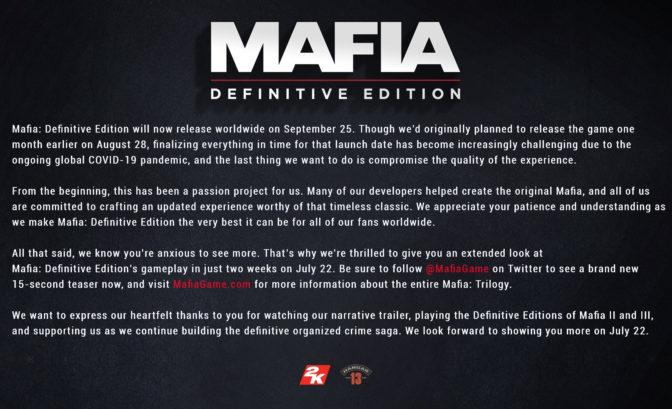 mafia definitive edition reporte