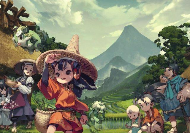 Sakuna of Rice and Ruin key art illustration