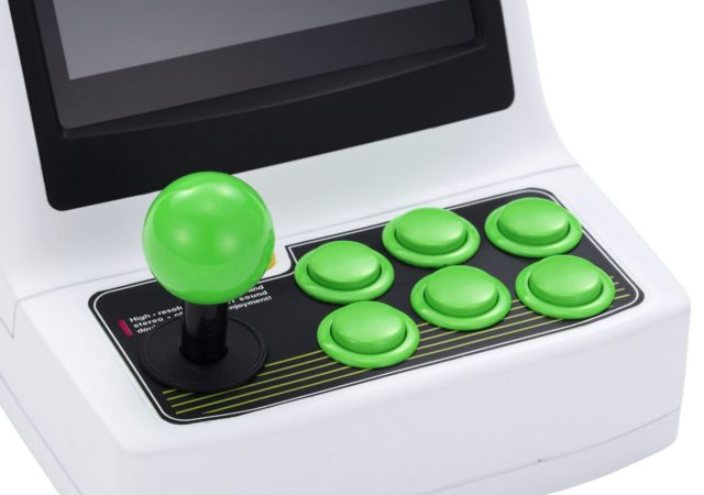Astro City Mini joystick