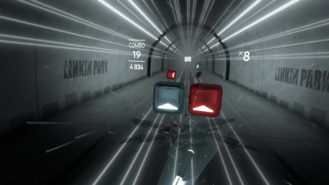 Beat Saber Linkin Park DLC