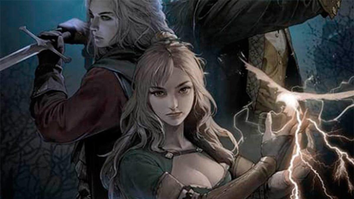 Castlevania: Moonlight Rhapsody artwork