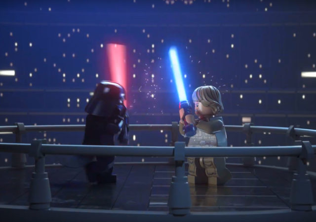 LEGO Star Wars Vador contre Luke