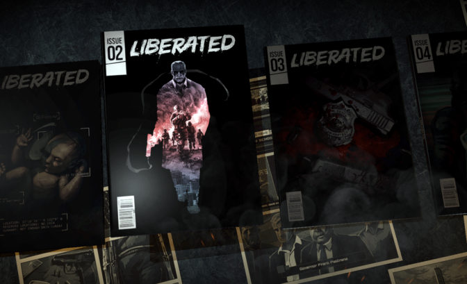 Liberated couverture comic book