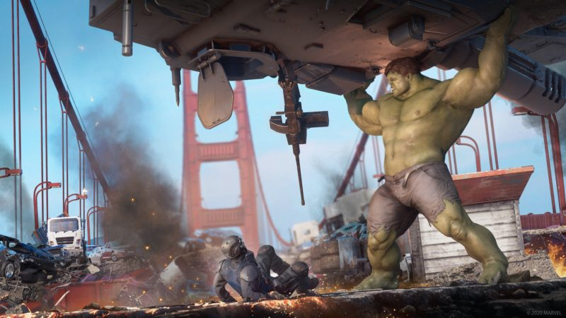 contenu Marvel's Avengers