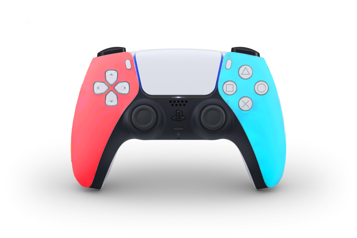 Manette PS5 couleurs Switch