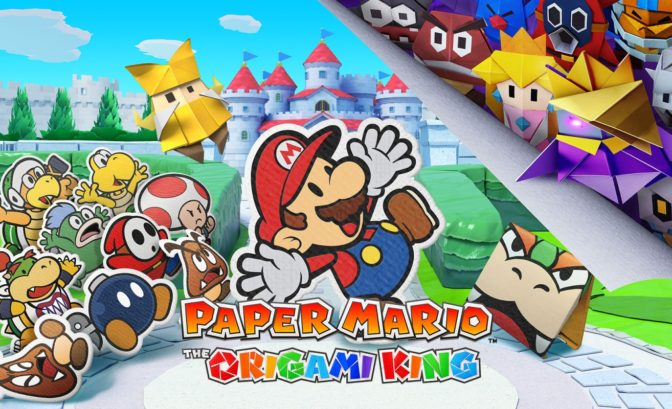 Paper Mario: The Origami King - Cover