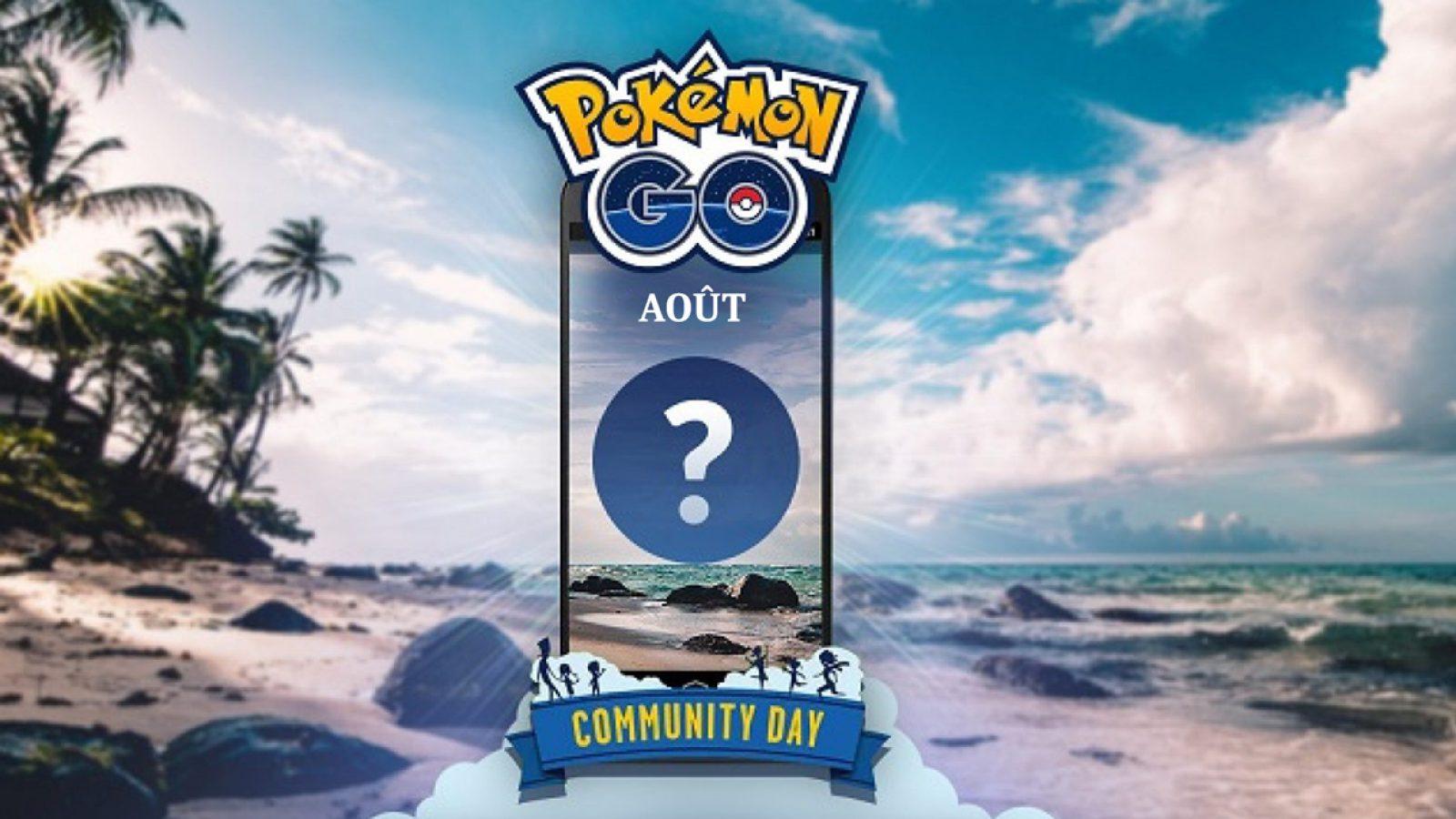 Pokémon GO Community Day aout 2020