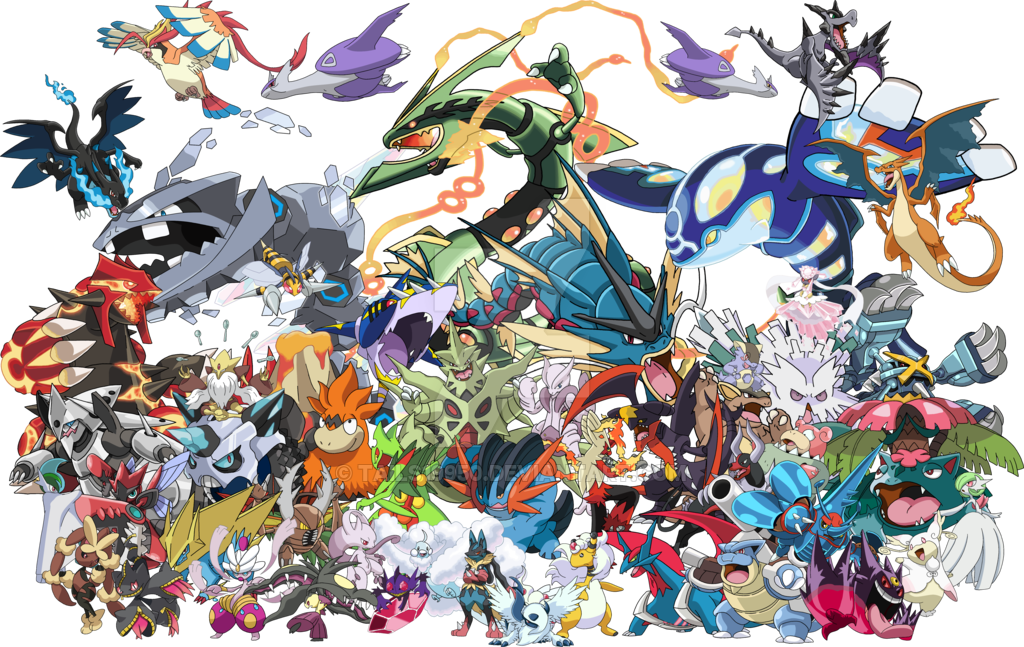 Pokémon GO - Méga-Évolution sauf 2