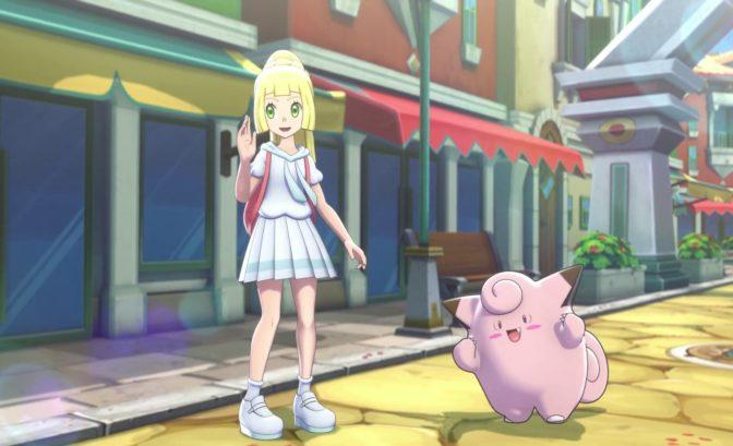 Pokémon Masters - Lilie et Mélofée