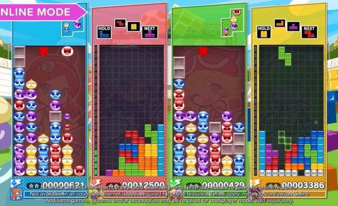 Image de gameplay du jeu Puyo Puyo Tetris 2